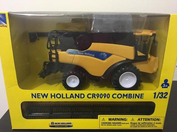 Miniatura Colheitadeira New Holland Cr9090 - Escala 1/32