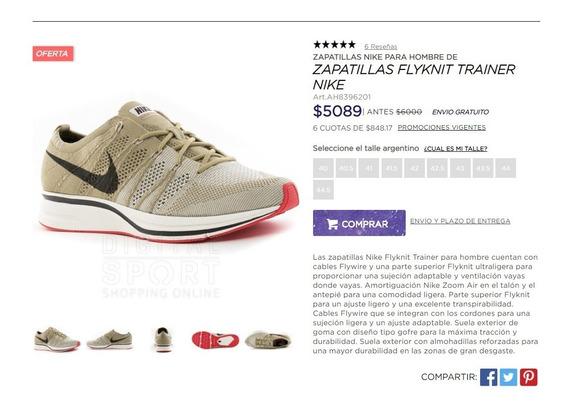 Zapatillas Flyknit Trainer Nike