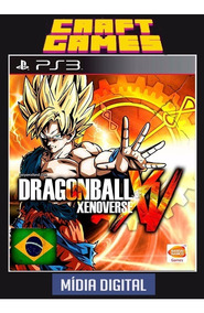 Dragon Ball Xenoverse Ps3 Psn Digital Game Pt-br