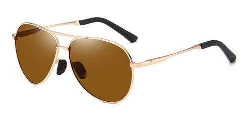 Imagen 1 de 9 de Gafas De Sol 100% Originales De Aluminio Polarizadas