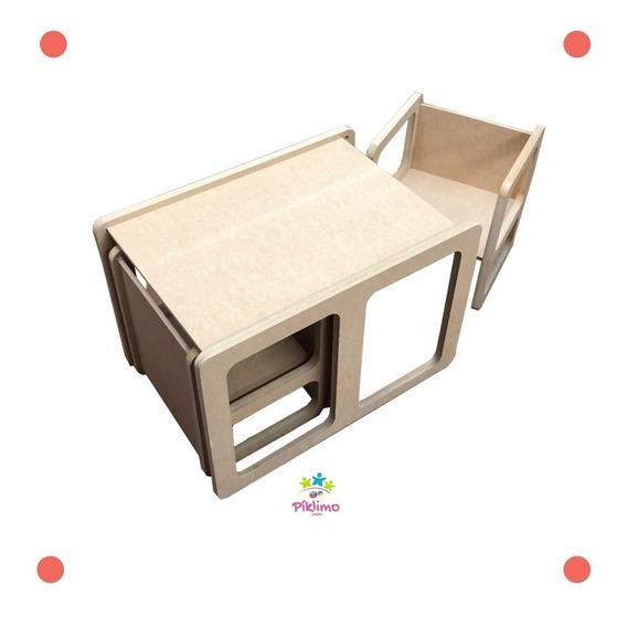 Mesa+silla Montessori