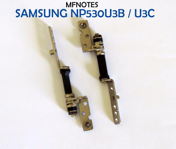 Dobradiças Ultrabook Samsung Np530u3b Np530u3c Par Novas