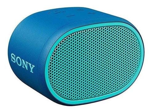 Bocina Sony Extra Bass XB01 portátil con bluetooth azul
