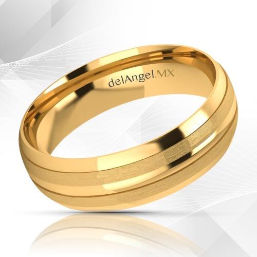 8f6c91e04da2 Anillos Matrimonio Oro 14k Comfort Light 6mm 13390-146 -   3