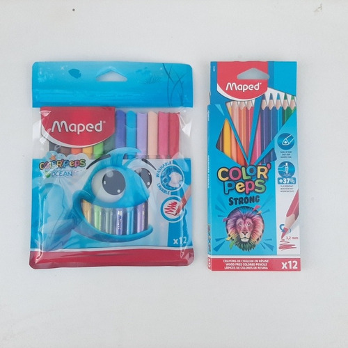Kit Lapices Mas Marcadores Maped