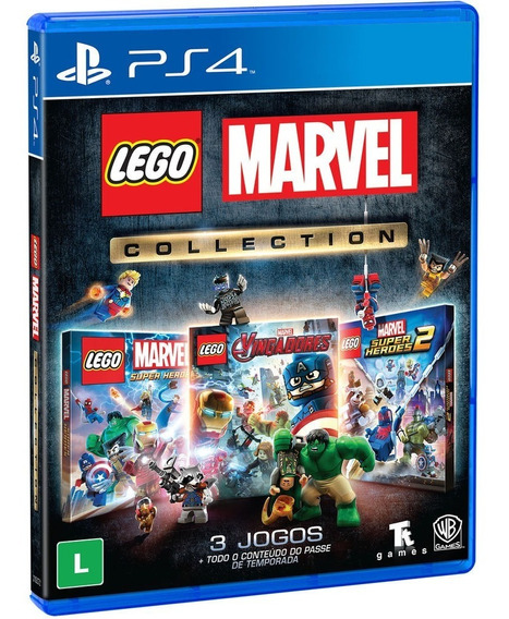 Jogo Lego Marvel Collection - Ps4 Novo Original Lacrado