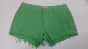 Shorts Jeans Boyfriend Shorts De Sarja Feminino-cod-6160