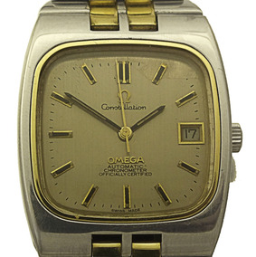 Relógio Omega Constellation Automático 1011 Aço/ Ouro J21693