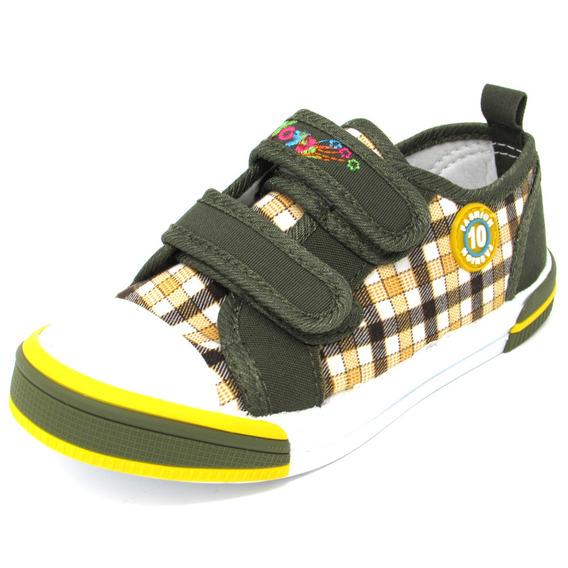 Zapatos Niños Marca Yoyo L3198 Verde 25-30. Envío Gratis