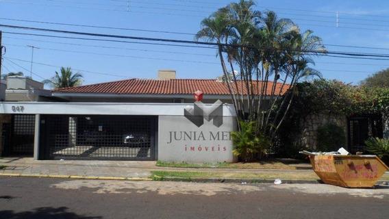 Casa Com 10 Dormitórios Para Alugar, 488 M² Por R$ 14.000/mês - Alto Da Boa Vista - Ribeirão Preto/sp - Ca0190