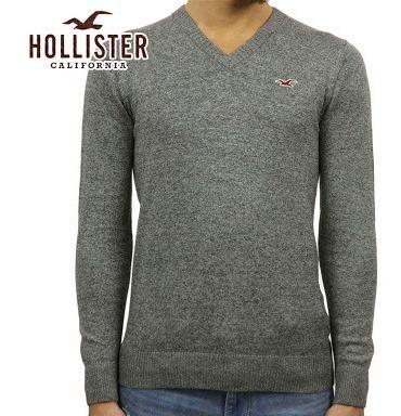 Sueter Gola V Hollister,importado Original