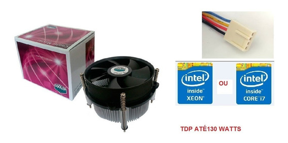 Air Cooler Box Lga 2011/2011-v3/i7/xeon Tdp 130 Frete Grátis
