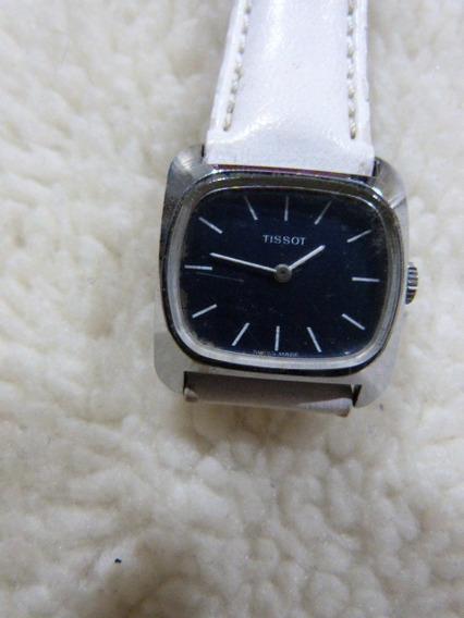 1 Relógio Tissot Mov. A Corda Maq. Eta Swiss Caixa 27 M/m