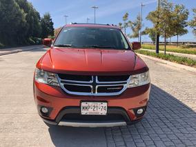 Dodge Journey 2013 Rt V6 7 Pas Piel Qc Dvd Excelente Estado