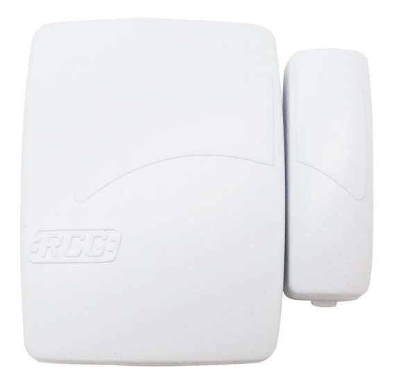 Sensor Alarme Magnético De Abertura Porta Janela Rcg Sem Fio
