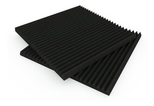 Pack X27 Placas Acústicas 50x50x3 (5 Diseños Dif)+ Zocalo