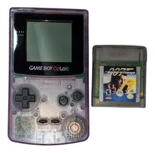 Game Boy Color Funcionando Con Un Juego.