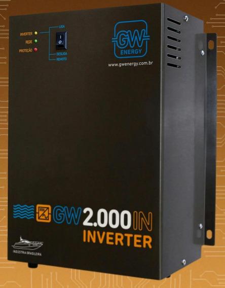 Inversor 2000w 12v Gw - 110v Ou 220v