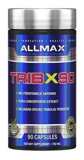 Tribulus Allmax Tribx90 750mg 90 Cápsulas Importado Eua
