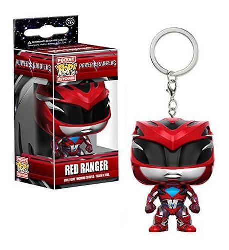 Funko Pop Power Rangers Llavero Red Ranger