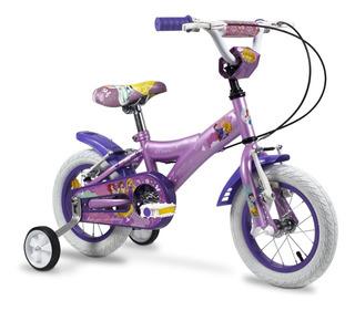 Bicicleta R 12 Princesas Cuadro Acero Rayos
