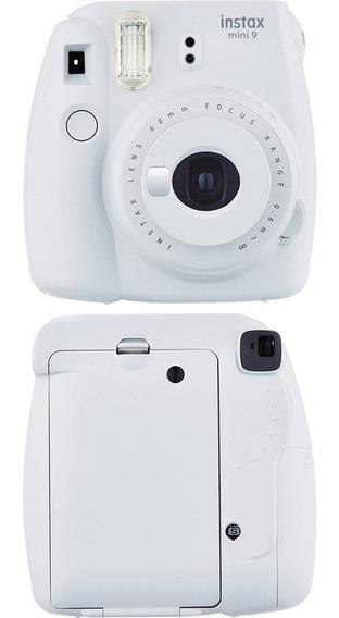 Câmera Instax Branco Gelo +10 Poses Mono + 10 Poses Rain