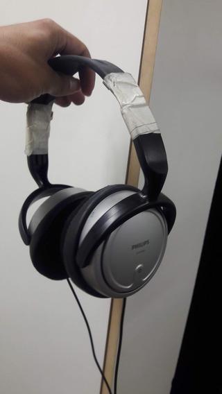 Headphone Philips Shp2500 Com Pequenos Detalhes