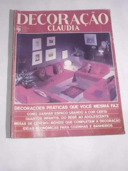 Revista Decoração Claudia Nº 142 - Jul/1973 - Arquitetura