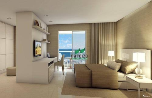 Cobertura Com 4 Dormitórios À Venda, 308 M² Por R$ 1.950.000,00 - Pituaçu - Salvador/ba - Co0093