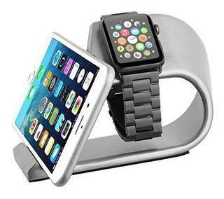 Apple Watch Stand Con iPhone Dock Erwubala Aluminum Alloy Ip