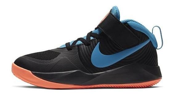 Tenis Nike Team Hustle Aq4225-006 Originales