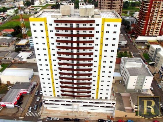 Apartamento Para Venda Em Guarapuava, Centro, 3 Dormitórios, 1 Suíte, 2 Banheiros, 2 Vagas - _2-801095