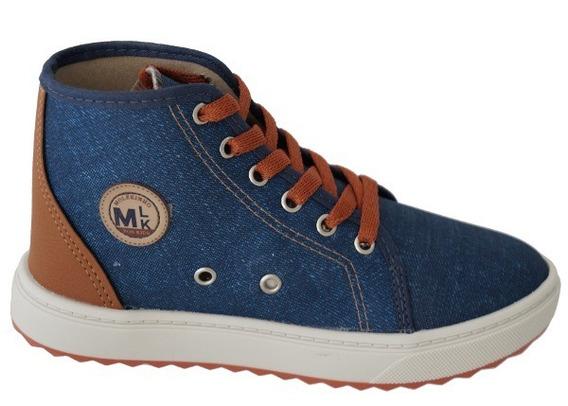 Tenis Infantil Molekinho 2813.105 - Jeans