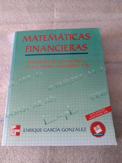 Libro Matematicas Financieras Por Medio De Algoritmos *sk