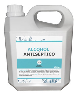 Alcohol Antiseptico 70%