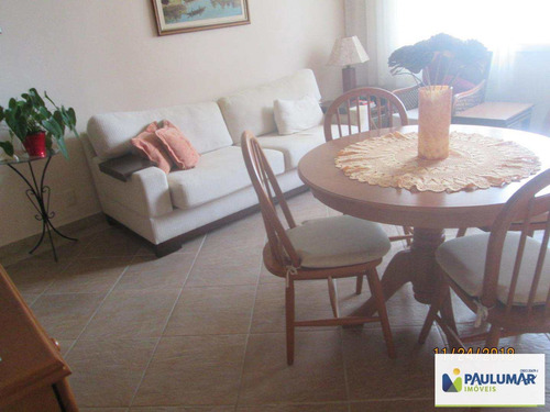 Apartamento Com 2 Dorms, Solemar, Praia Grande - R$ 290 Mil, Cod: 828202 - V828202