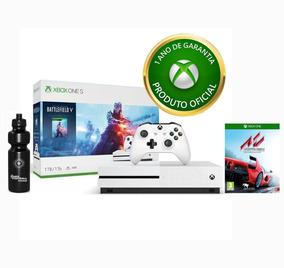 Console Xbox One S 1tb + Controle + 2 Jogos