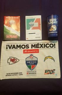 Mexico Game Los Angeles Vs Kansas City 19 Toalla Vaso Boleto