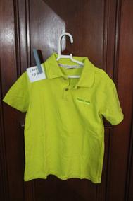 Roupa Lote 778 Menino Camisa Polo Tigor T Tigre Tamanho 6 V