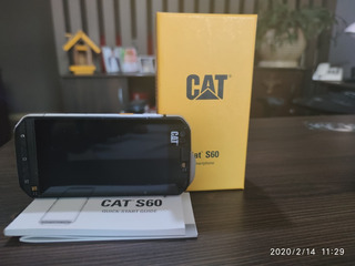 Cat S60 Dual Sim 32 Gb Preto/prata 3 Gb Ram ** Usado **
