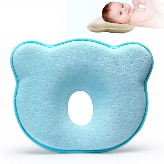 Almohada Para Bebé Recién Nacido Prevenga Forma De Oso