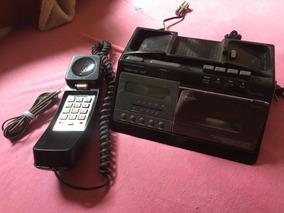 Raridade: Rádio-relógio-despertador-toca-fitas-telefone