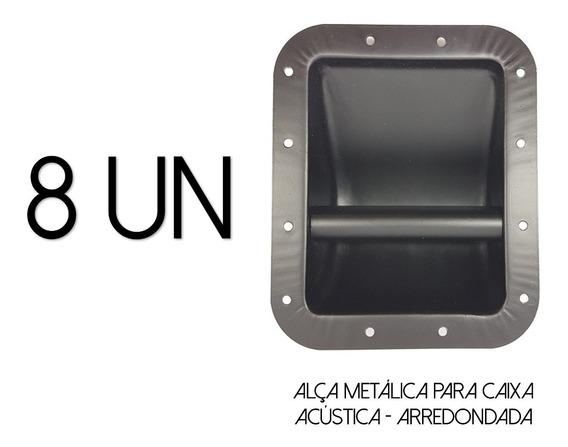 8-alças P/caixa Acústica-metal-line Array-arredondada