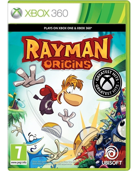 Jogo Rayman Origins Xbox360 Midia Fisica Cd Original Oferta