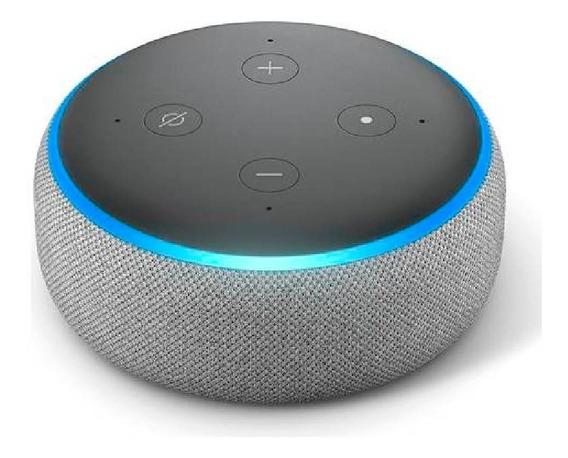 Smart Speaker Amazon Alexa Echo Dot 3 Português Novo