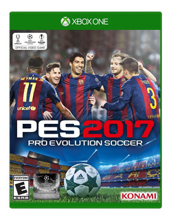 Pes 2017 (pro Evolution Soccer 2017) Xbox One