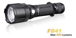 ¡oferta! Linterna Fenix Fd41 Zoom, 900lm Y Alcance De 340m.