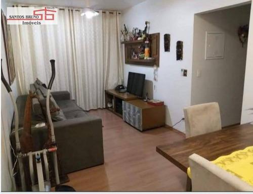 Imagem 1 de 6 de Apartamento Com 2 Dormitórios À Venda, 55 M² Por R$ 285.000,00 - Freguesia Do Ó - São Paulo/sp - Ap4136