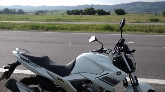 Yamaha Fazer 250 Branca - Abaixo Da Tabela