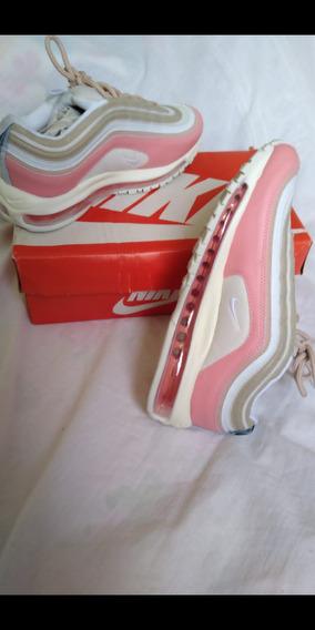 Tênis Nike Air Max 97 Rosa Tamanho 38